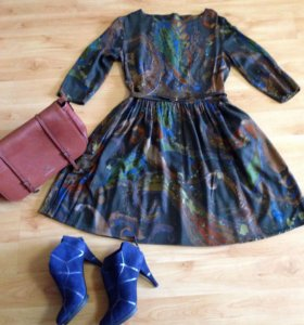 Платье из тонкой итальянской шерсти ETRO