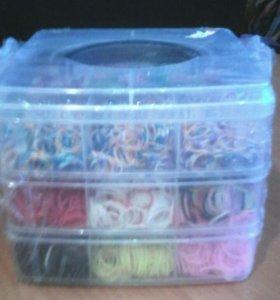 Набор резиночек для плетения.