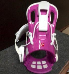 Крепления для сноуборда Head 14-15 RX FAY I Pink