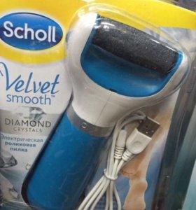 Электрическая роликовая пилка Scholl c USB