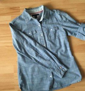 Женская джинсовая рубашка Tommy Hilfiger