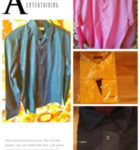 5 Новых рубашек хлопок обмен