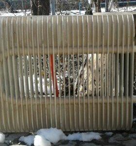 Радиатор отопительный алюминиевый