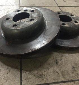 Тормозные диски на BMW 5 f10
