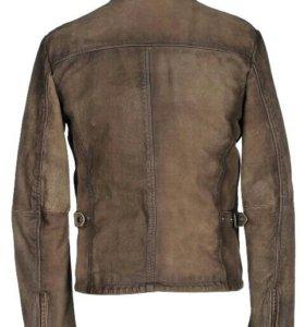 Куртка кожаная мужская D'AMICO