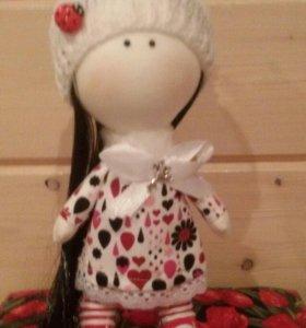 Интерьерная кукла ручной работы