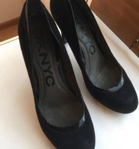 туфли DKNYC (чёрные, 38-38,5 )