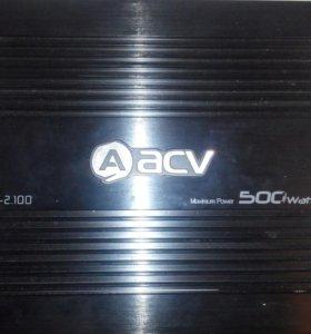 Усилитель ACV на 500 ват.