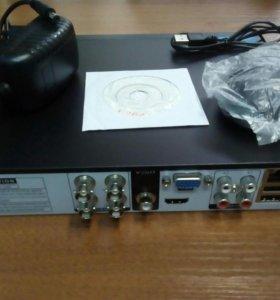 HD 4 канальный облачный видеорегистратор