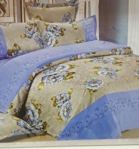 Комплект постельного белья с вышивкой