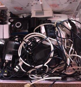 Коробка разных USB