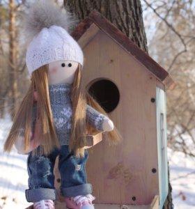 Интерьерная кукла ( большеножка )