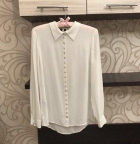 Шифоновая блузка Mango