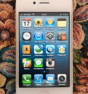 Айфон 4s на iOS 6.0.1 на 32 ГБ