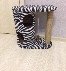 Изготовление кошачих домов
