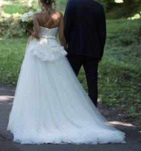 Свадебное платье Vera Wang White 42-44 оригинал