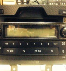 Штатная магнитола на 6 CD Toyota Prado