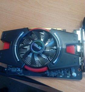 Игровая видеокарта AMD Radeon ASUS Hd 7750