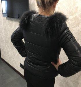 Куртка с мехом 42-44
