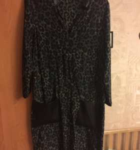 Шелковое платье Gerard Darel размер М