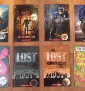 Книги (9 штук)  +CD на англ языке