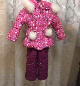 Зимний костюм на девочку 3 года