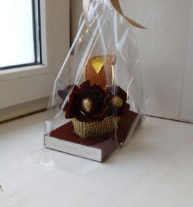 Туфелька с конфетами