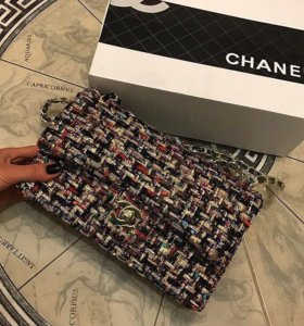 Новая женская Сумка твидовая Chanel новая