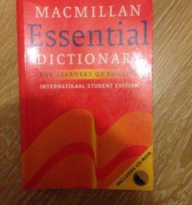 Словарь Macmillan Essential Dictionary