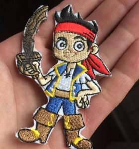 Нашивка пират