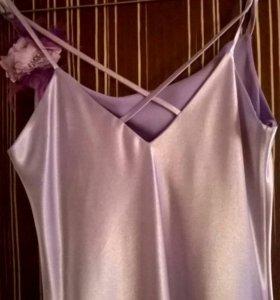 Двустороннее вечернее платье 42размер