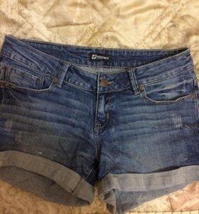 Шорты джинсовые