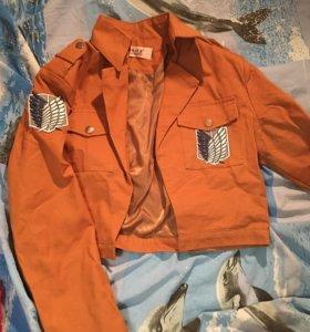 Куртка косплей атака титанов