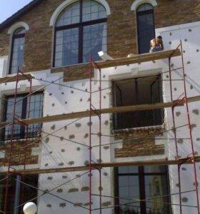 Кровельные и фасадные работы