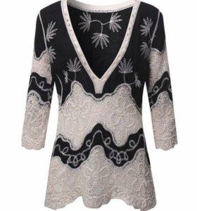 Блузка с вышивкой (новая)