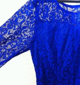 Вечернее ажурное платье