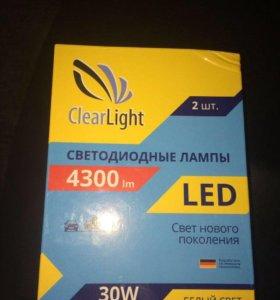 Лампочки с блоками розжига LED H7
