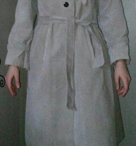 Пальто винтажное осень-весна