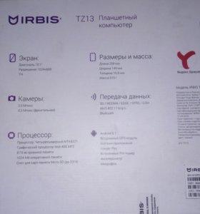 Планшет irbisTZ13