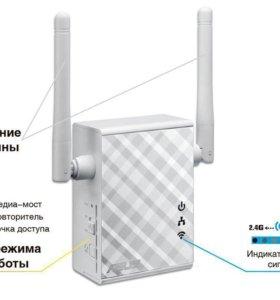 Ретранслятор WiFi Asus RP-N12