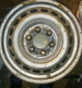 Штатные диски R16 на м/а MB Sprinter, VW Crafter
