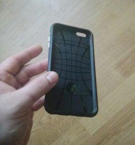 Ударопрочный жесткий бампер на iPhone 6s plus