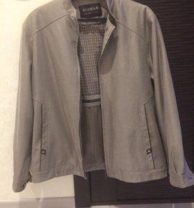 Куртка-пиджак-ветровка мужская