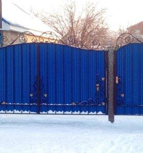 Кованые ворота В-121 30880 р.