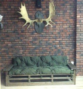 Матрасы для мебели из паллет поддонов