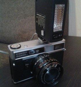 Фотоаппарат Сокол2 с вспышкой.