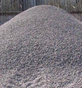 Щебень, песок с карьера