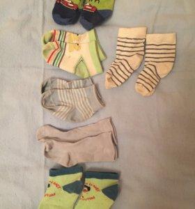 Детские носочки mothercare