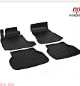 Комплект резиновых ковриков Passat B6