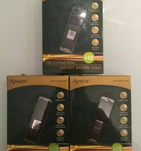 Продам 3 шт USB-флэш Apacer AH620 4Gb со сканер